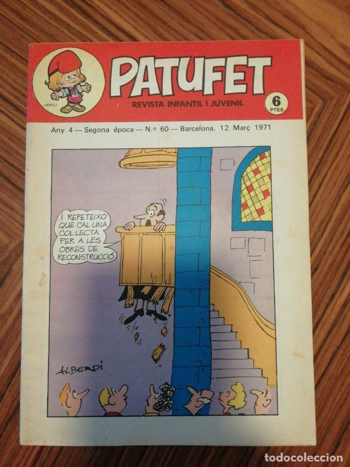 Cómics: 6 X Patufet. Revista Infantil y Juvenil. Gener - Abril 1971 - Foto 4 - 200585980