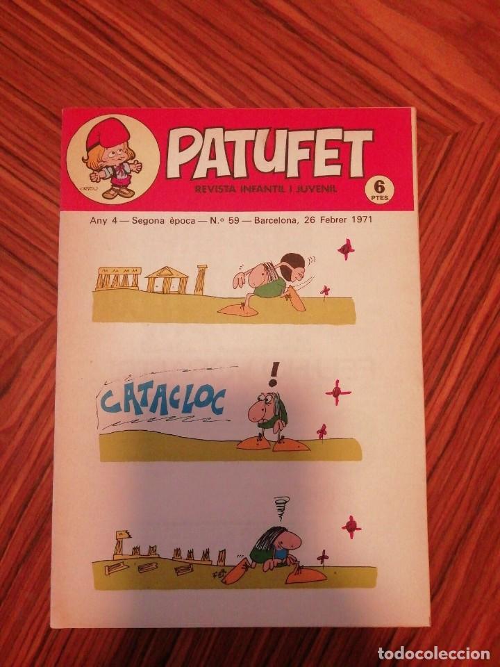 Cómics: 6 X Patufet. Revista Infantil y Juvenil. Gener - Abril 1971 - Foto 5 - 200585980