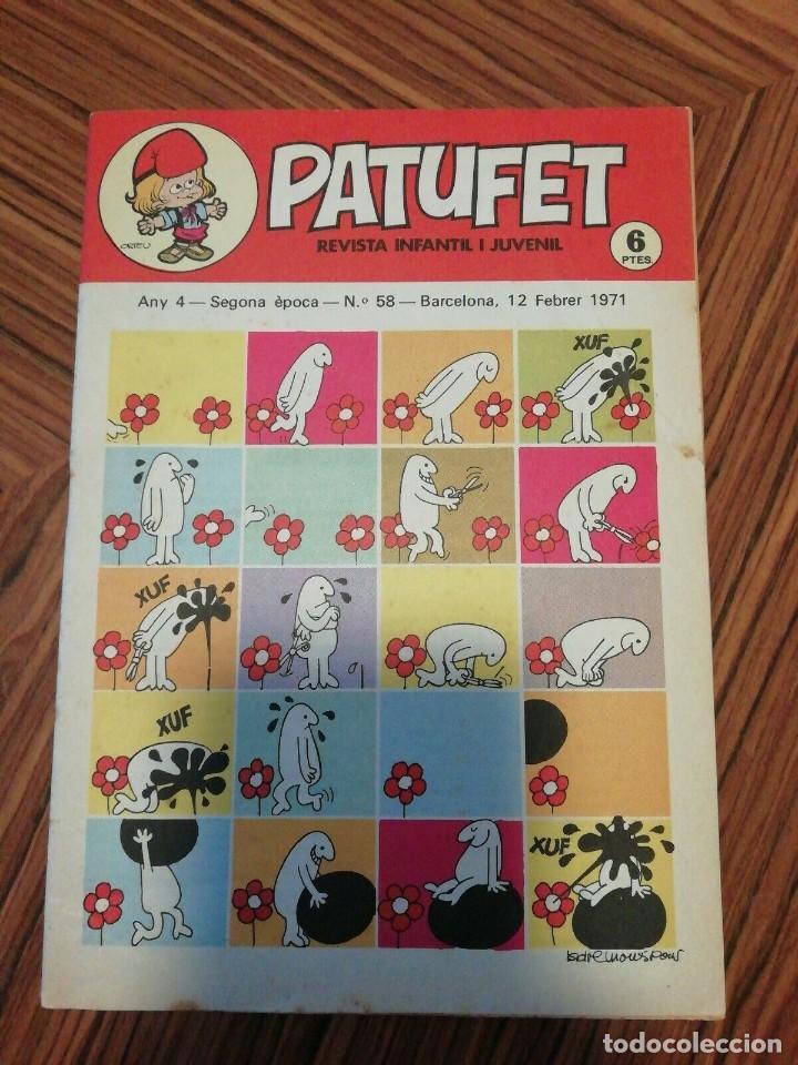 Cómics: 6 X Patufet. Revista Infantil y Juvenil. Gener - Abril 1971 - Foto 6 - 200585980