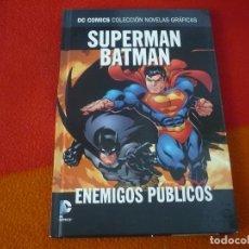 Cómics: SUPERMAN BATMAN ENEMIGOS PUBLICOS DC NOVELAS GRAFICAS 5 ( LOEB ) ¡MUY BUEN ESTADO! SALVAT ECC. Lote 200605760
