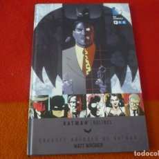 Cómics: BATMAN ROSTROS ( MATT WAGNER ) ¡MUY BUEN ESTADO! TAPA DURA DC ECC GRANDES AUTORES DE. Lote 200609851