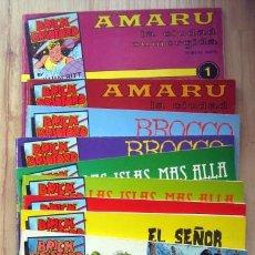 Comics: BRICK BRADFORD, DE WILLIAM RITT Y CLARENCE GRAY. COLECCIÓN COMPLETA 10 EJEMPLARES. Lote 200742498