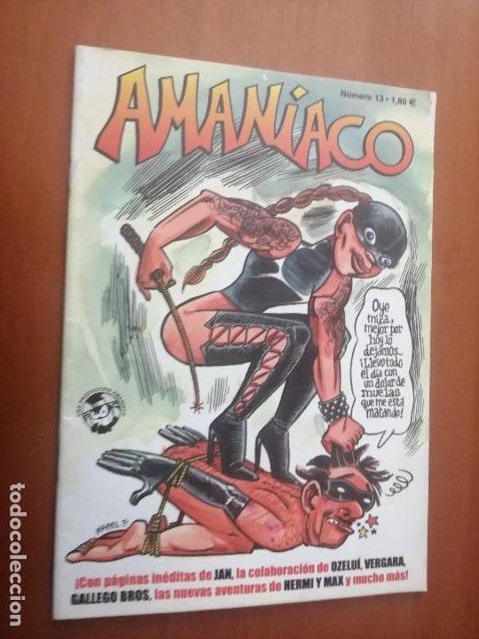 AMANIACO 13. GRAPA. VARIOS AUTORES. BUEN ESTADO (Tebeos y Comics - Comics otras Editoriales Actuales)