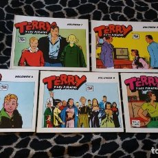 Cómics: TERRY Y LOS PIRATAS VOLUMEN 1 2 3 4 5 MILTON CANIFF . Lote 201174118