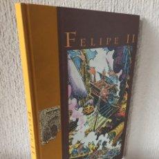 Cómics: FELIPE II - ANTONIO HERNÁNDEZ PALACIOS - EDICIÓN LUJO - GRUPO PANDORA - 1999 - ¡NUEVO!. Lote 201337286