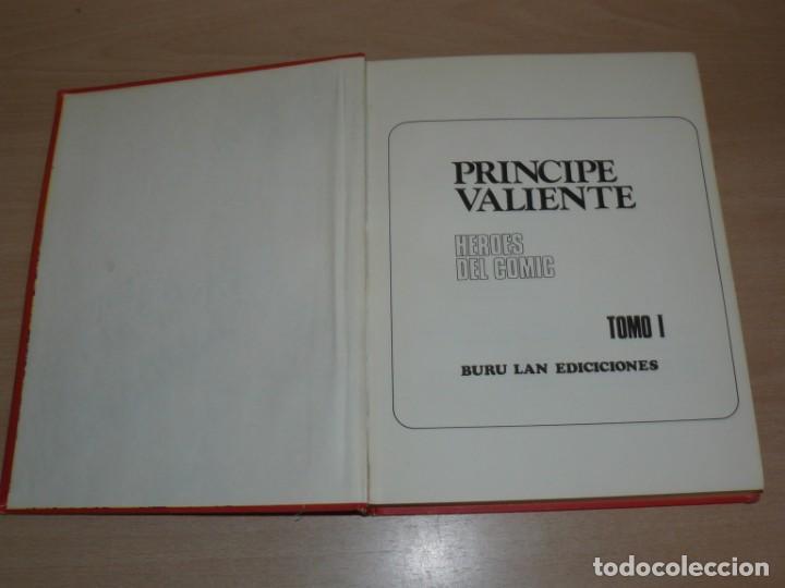 Cómics: Buru Lan Ediciones Tomo I El Principe Valiente En Tiempos del Rey Arturo original 1972 - Foto 3 - 201678227