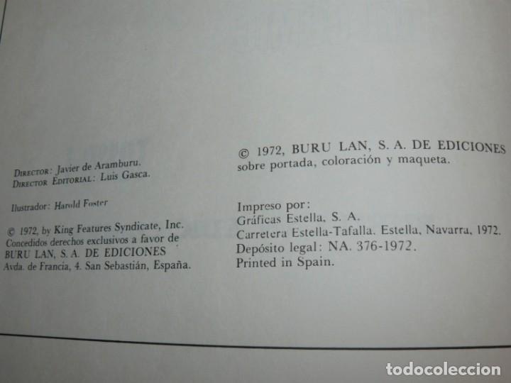 Cómics: Buru Lan Ediciones Tomo I El Principe Valiente En Tiempos del Rey Arturo original 1972 - Foto 4 - 201678227