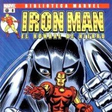 Cómics: IRON MAN NUMERO 8 - BIBLIOTECA MARVEL. Lote 201737053