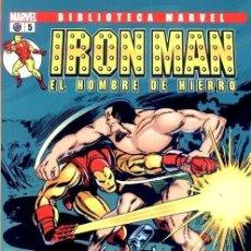 Cómics: IRON MAN NUMERO 5 - BIBLIOTECA MARVEL. Lote 201737210