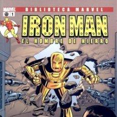 Cómics: IRON MAN NUMERO 1 - BIBLIOTECA MARVEL. Lote 201737553