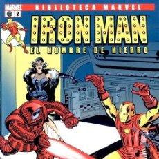 Cómics: IRON MAN NUMERO 2 - BIBLIOTECA MARVEL. Lote 201737628