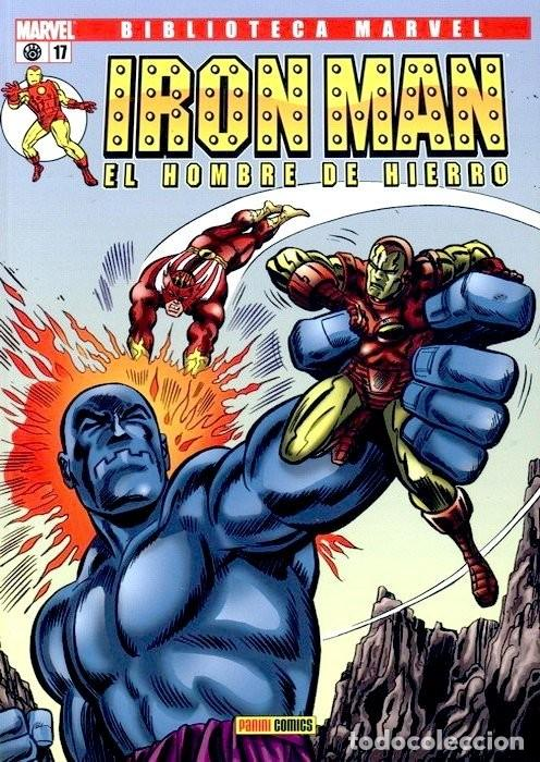 IRON MAN NUMERO 17 - BIBLIOTECA MARVEL (Tebeos y Comics Pendientes de Clasificar)