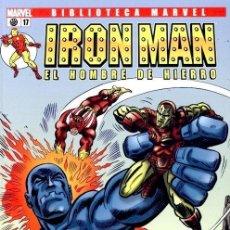 Cómics: IRON MAN NUMERO 17 - BIBLIOTECA MARVEL. Lote 201738116