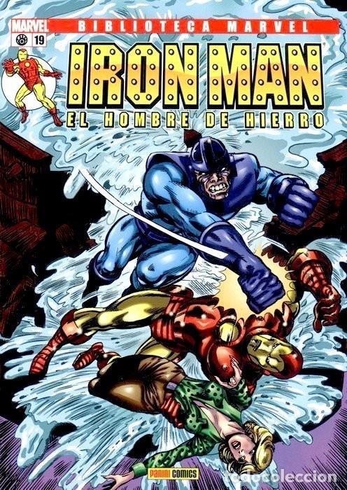 IRON MAN NUMERO 19 - BIBLIOTECA MARVEL (Tebeos y Comics Pendientes de Clasificar)
