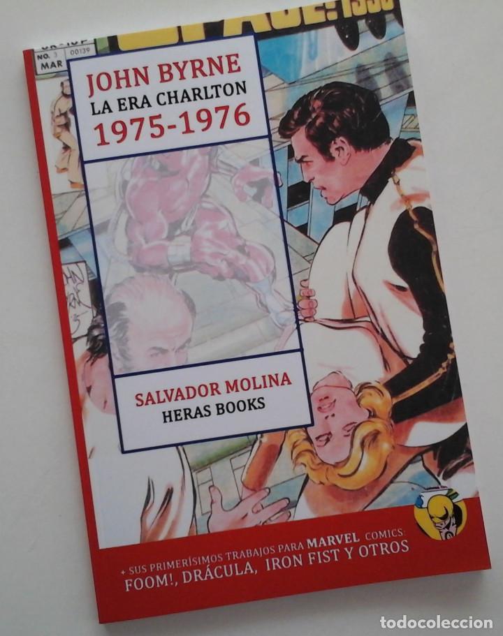 JOHN BYRNE, LA ERA CHARLTON 1975-1976. ESTUDIO SOBRE EL AUTOR. DISPONIBLE (Tebeos y Comics Pendientes de Clasificar)
