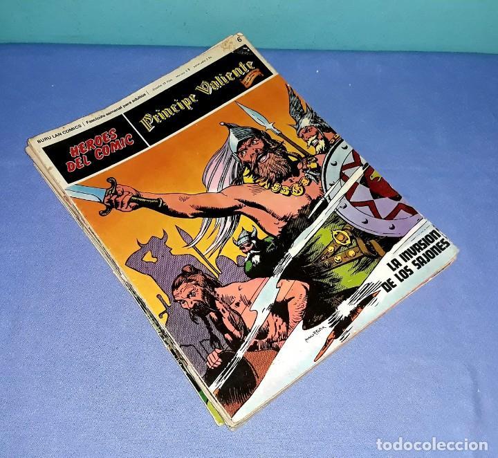 LOTE DE 8 COMICS DEL PRINCIPE VALIENTE AÑOS 70 ORIGINALES BURULAN COMICS GRAN FORMATO (Tebeos y Comics - Buru-Lan - Principe Valiente)