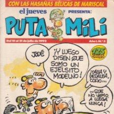 Cómics: COMIC PUTA MILI Nº 3 AÑO I EDICIONES EL JUEVES 1992. Lote 202252766