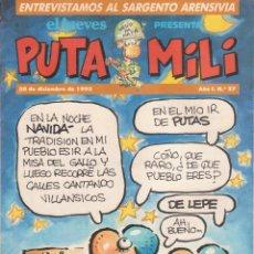 Cómics: COMIC PUTA MILI Nº 27 AÑO I EDICIONES EL JUEVES 1992. Lote 202254302