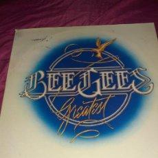 Cómics: 2 ANTIGUO DISCO VINILO LP DE BEE GEES GREATEST AÑOS 70,USADO. Lote 202521751