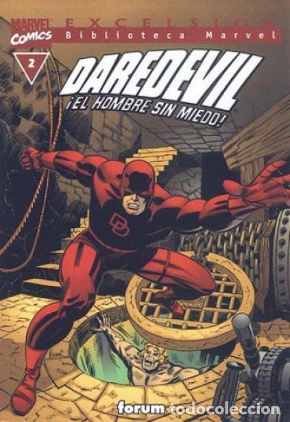 DAREDEVIL NUMERO 2 - BIBLIOTECA MARVEL (Tebeos y Comics Pendientes de Clasificar)
