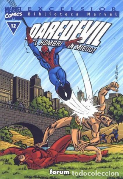 DAREDEVIL NUMERO 12 - BIBLIOTECA MARVEL (Tebeos y Comics Pendientes de Clasificar)