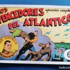 Cómics: JUAN CANTELLA,EL HERCULES DETECTIVE, LOS VENCEDORES DEL ATLANTICO NÚM 6. Lote 202631615