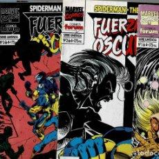 Comics: FUERZAS DE LA OSCURIDAD COLECCION COMPLETA , Nº 1, 2 ,3 Y 4 / COMIC-102. Lote 202697623