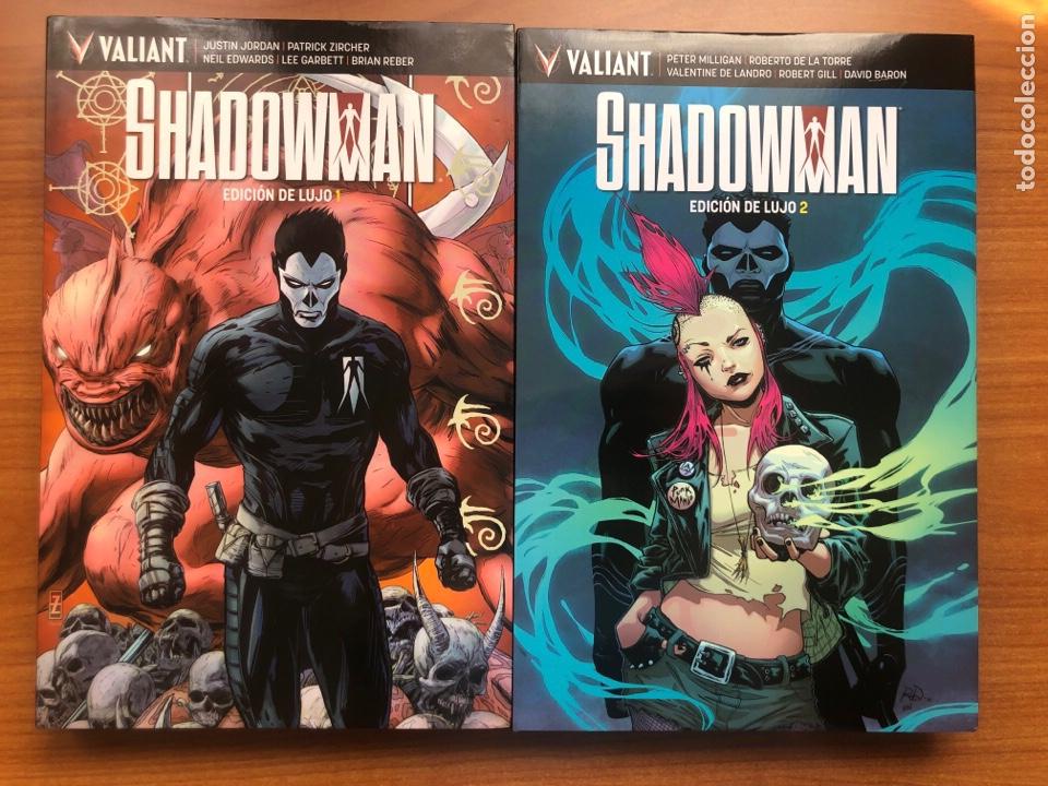 SHADOWMAN EDICIÓN DE LUJO 1 Y 2 (Tebeos y Comics - Comics otras Editoriales Actuales)