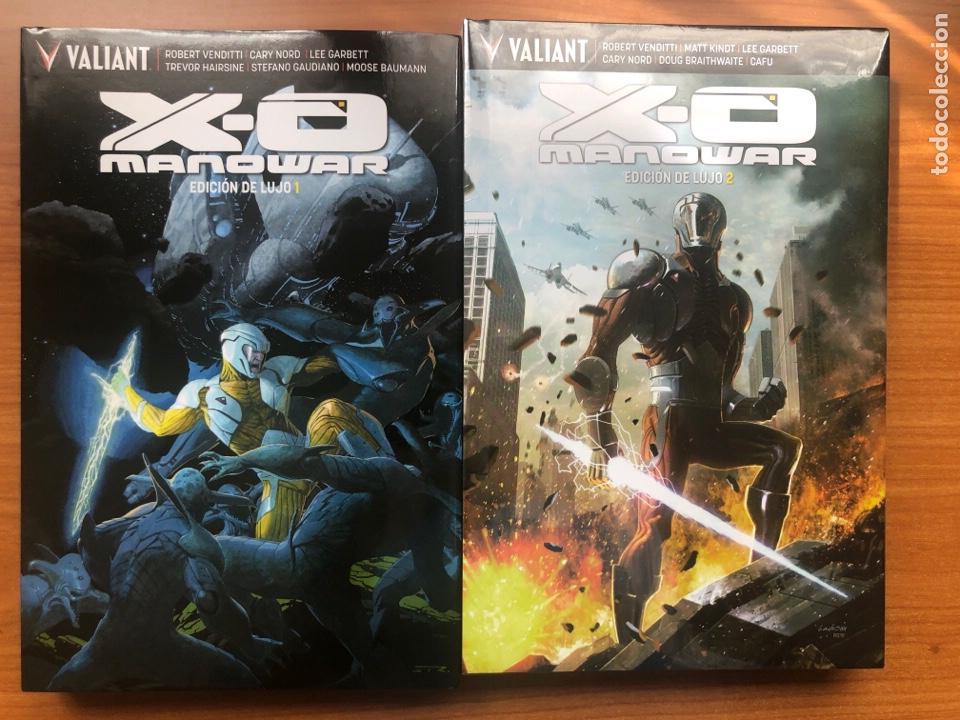 XO MANOWAR EDICIÓN DE LUJO 1 Y 2 (Tebeos y Comics - Comics otras Editoriales Actuales)