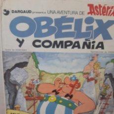 Cómics: COMIC OBELIX Y COMPAÑIA DE DARGAUD TAPA DURA BUEN ESTADO. Lote 202853441
