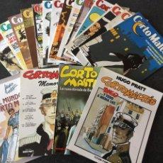 Cómics: REVISTA CORTO MALTÉS COMPLETA 15 NÚMEROS MÁS REGALOS - HUGO PRATT - NEW COMIC - 1988 - ¡NUEVA!. Lote 202881408
