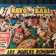Cómics: COMIC AÑO 1962. EL RAYO DE BAAL. Nº 2. LAS ÁGUILAS ROMANAS.. Lote 202934793