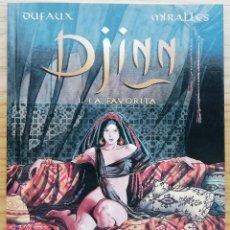 Comics: DJINN. LA FAVORITA, LAS 30 CAMPANILLAS, EL TATUAJE, EL TESORO (CICLO TURQUÍA COMPLETO). ED. NORMA.. Lote 202973747