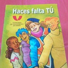 Cómics: PLATAFORMA DEL VOLUNTARIADO COMIC. Lote 203254403