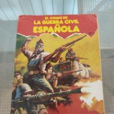 Cómics: EL COMIC DE LA GUERRA CIVIL ESPAÑOLA. Lote 203409492