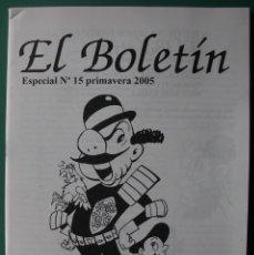 Comics: EL BOLETIN ESPECIAL Nº 15 PRIMAVERA 2005 G. IRANZO DESDE EL HUMOR. Lote 203489510