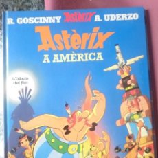 Cómics: ASTERIX A AMERICA - L´ALBUM DEL FILM - EN CATALAN. Lote 203505720