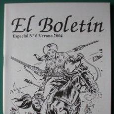 Comics: EL BOLETIN ESPECIAL Nº 6 VERANO 2004 JUAN GARCIA IRANZO , RAYO KIT. Lote 203509738