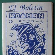 Comics: EL BOLETIN Nº 8 ENTREVISTA IRANZO, JOSEP COLL, PATRULLA X. Lote 203596402