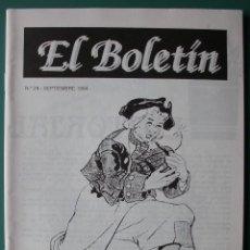 Comics: EL BOLETIN Nº 29 ENTREVISTA A FEDERICO BLANCO, IRANZO. Lote 203790745