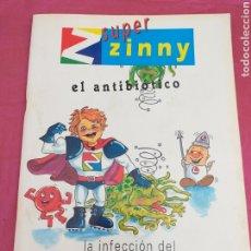 Cómics: COMIC ANTIGUO - PUBL. FARMACÉUTICAS - LA INFECCIÓN DEL OÍDO. Lote 203830805