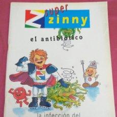 Cómics: COMIC ANTIGUO - PUBL. FARMACÉUTICAS - LA INFECCIÓN DEL OÍDO. Lote 203831053