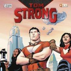 Cómics: TOM STRONG DE ALAN MOORE 1 2 3 COMPLETA - ECC / VERTIGO / TAPA DURA. Lote 203884290