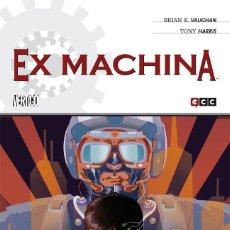 Cómics: EX MACHINA DE BRIAN K VAUGHAN 1 AL 10 COMPLETA - ECC / DC VERTIGO / RUSTICA. Lote 203885046