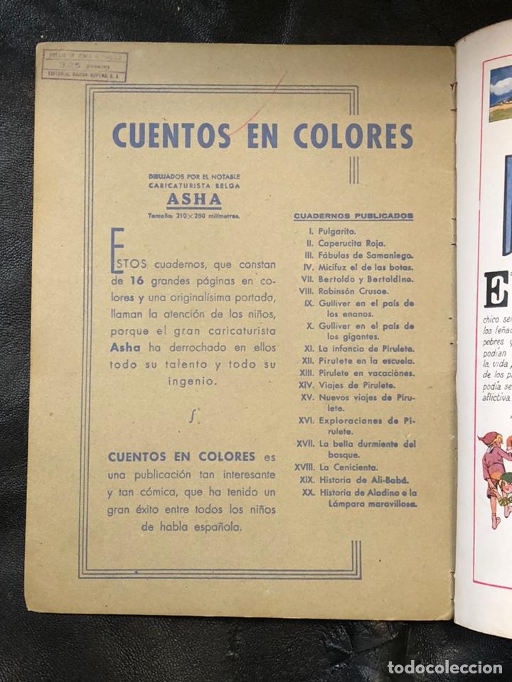 Cómics: PULGARCITO - CUENTOS EN COLORES - RAMON SOPENA - Foto 2 - 203921593