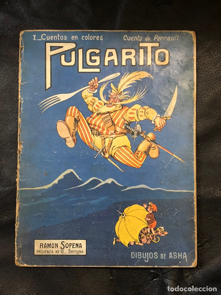 PULGARCITO - CUENTOS EN COLORES - RAMON SOPENA (Tebeos y Comics Pendientes de Clasificar)