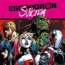 Cómics: ESCUADRON SUICIDA 1 2 - ECC / DC SAGA RENACIMIENTO / TAPA DURA. Lote 204014140