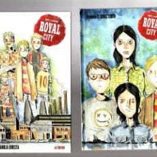 Cómics: ROYAL CITY DE JEFF LEMIRE 1 Y 2 - ASTIBERRI / TAPA DURA. Lote 204145920