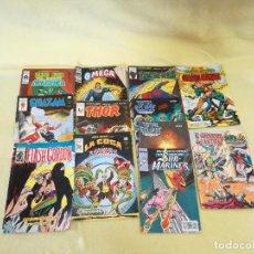 Cómics: LOTE DE 12 COMICS DE SUPERHÉROS, 1970´S, 1980´S, MARVEL, FORUM, COMICS-ARTS. Lote 204188947