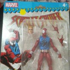 Cómics: SCARLET SPIDER MARVEL LEGENDS AVENGERS VINTAGE HASBRO. Lote 214788191